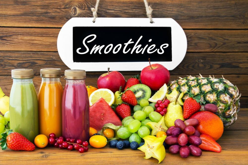 Smoothies Food & Drink Wall Mural