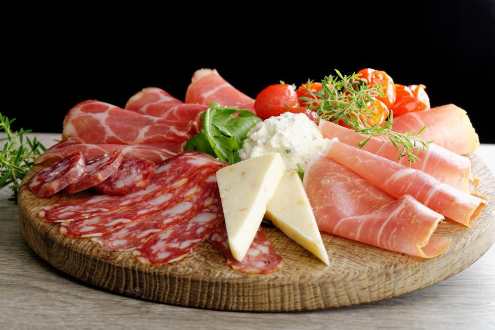 Arrangement Delicatessen Cold Cuts Food & Drink Wall Mural - Food-Drink-Wall-Murals - Decall.ca