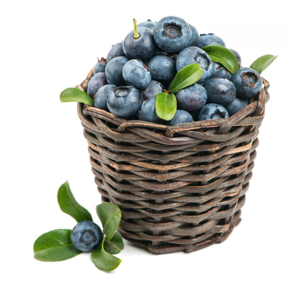 Fresh Blueberry Fruit Food & Drink Wall Mural Sticker