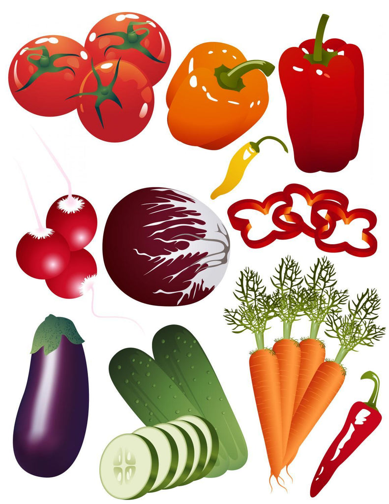 Vegetables Food & Drink Wall Mural Sticker
