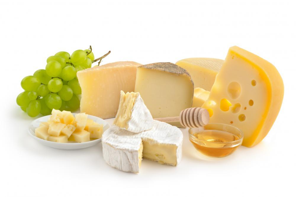 Cheese Selection Food & Drink Wall Mural