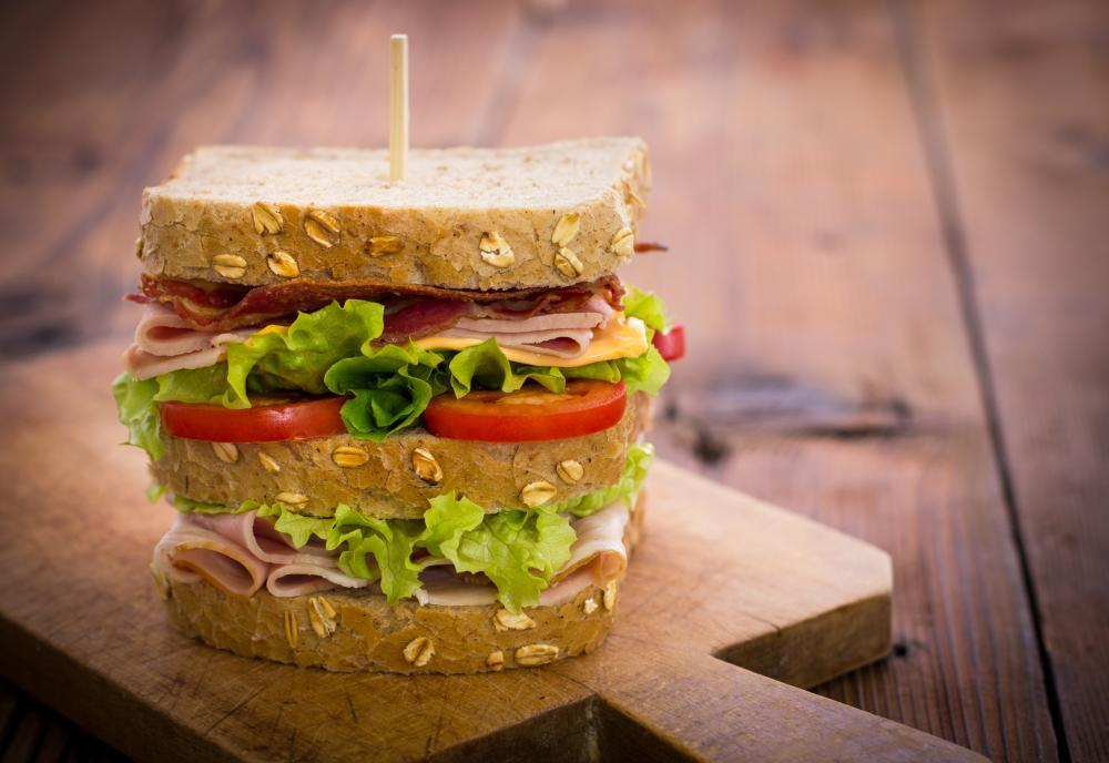 Delicious Sandwich Table Food & Drink Wall Mural