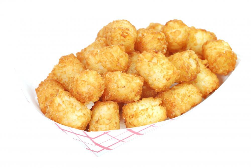 Fried Tater Tots Basket Food & Drink Wall Mural