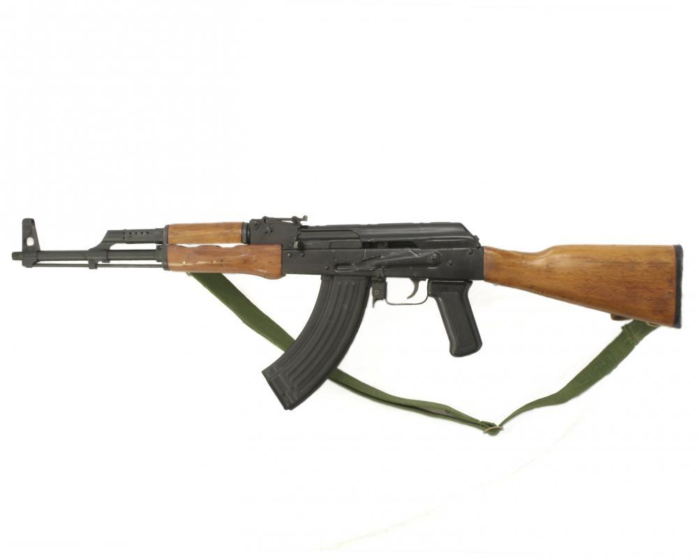 Ak-47 Object Wall Mural Sticker - Object-Wall-Stickers - Decall.ca