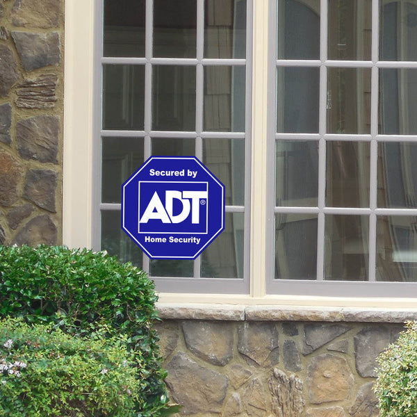 ADT Window Sticker Home Security Sign Decal - Stickers - Decall.ca