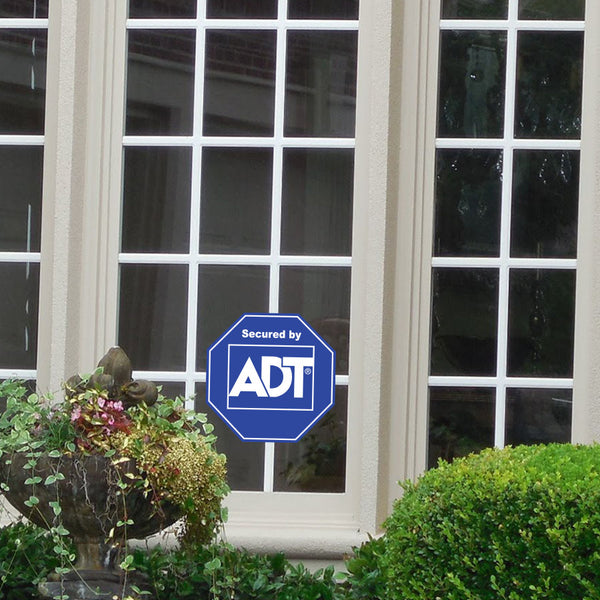 ADT Window Sticker Home Security Sign Sticker - Stickers - Decall.ca