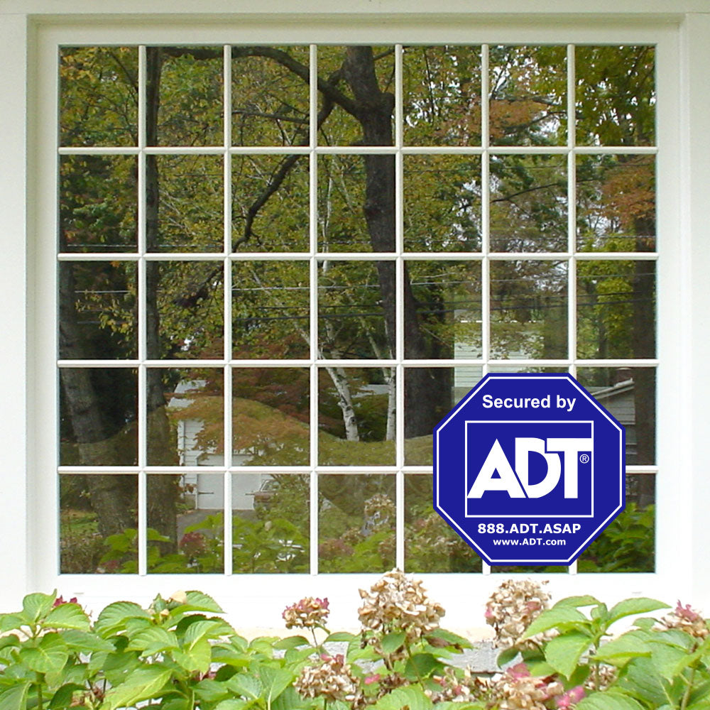 ADT Canada Home Security Sign - ADT Window Sticker Alarm ...