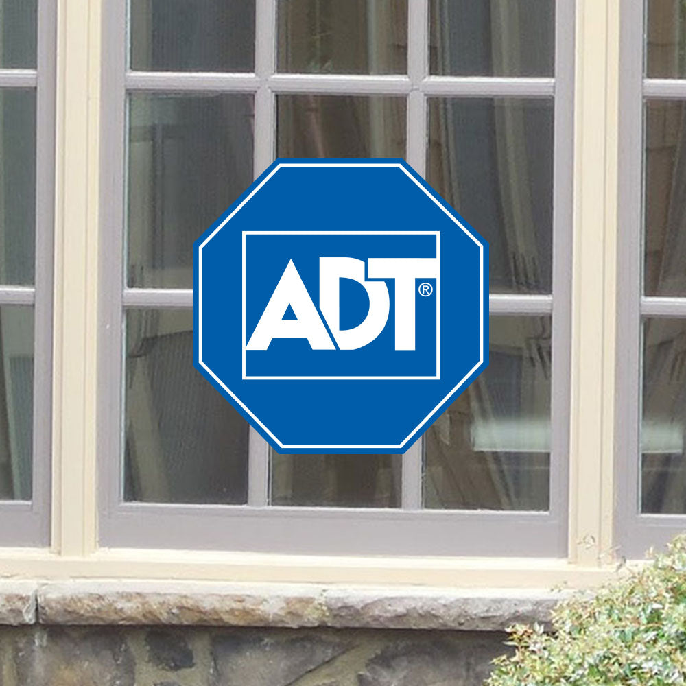 ADT Home Security Sign Sticker - Stickers - Decall.ca