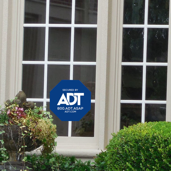 ADT Window Sticker Home Security Sign Alarm Sticker - Stickers - Decall.ca