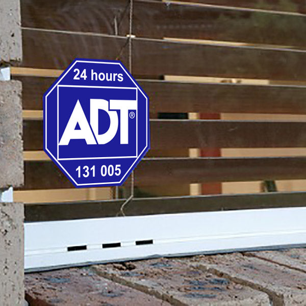 ADT Window Sticker Home Security Sign Alarm Australian Sticker - Stickers - Decall.ca