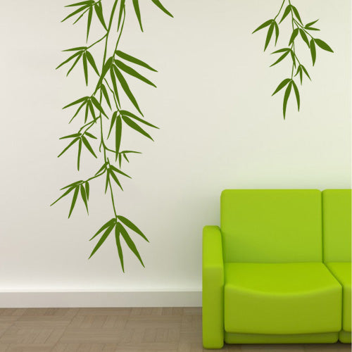 Bamboo Leaves - Wall Decals - Wall-Decals - Decall.ca