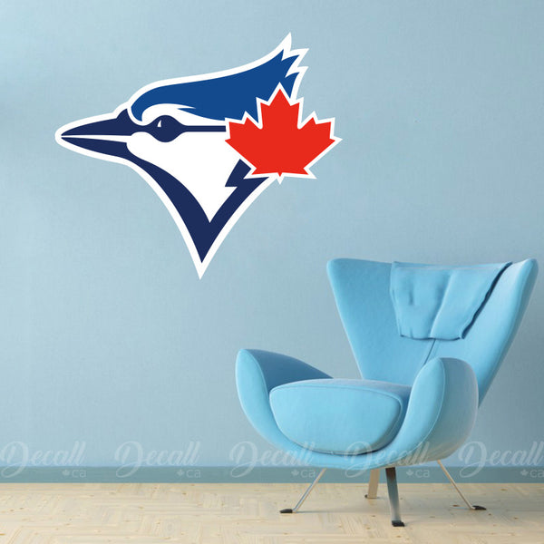 Baseball Team Toronto Blue Jays Cap Logo Sport Wall Sticker - Wall-Stickers - Decall.ca