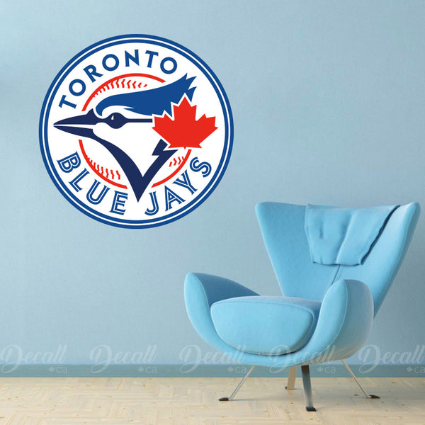 Baseball Team Toronto Blue Jays Logo Sport Wall Sticker - Wall-Stickers - Decall.ca