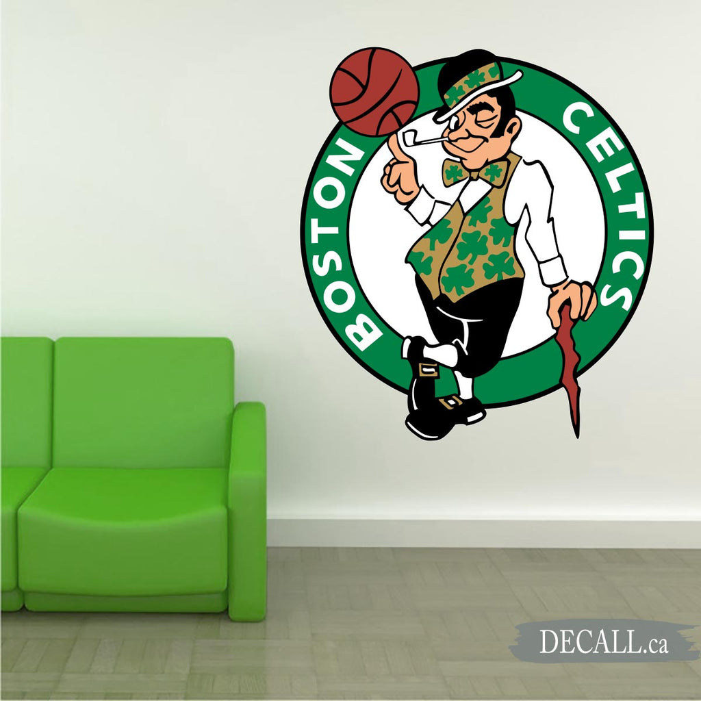 Basketball Team Boston Celtics Team Logo Sport Wall Sticker