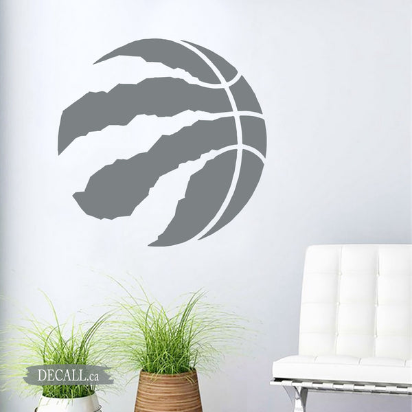 Basketball Team Toronto Raptors Team Logo Sport Wall Decal