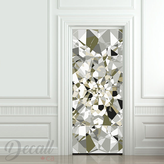 Beautiful Diamond Door Mural - Door-Murals - Decall.ca