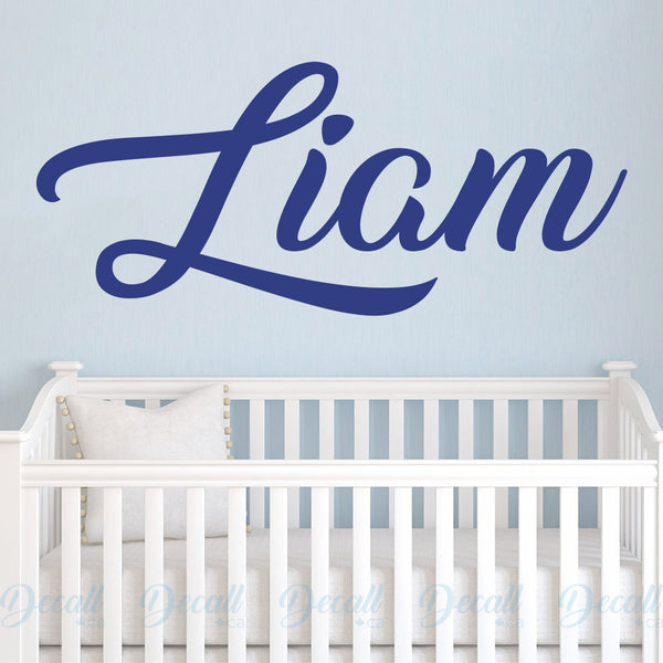 Personalized Name Monogram - Wall Decals Stickers - Wall-Decals - Decall.ca