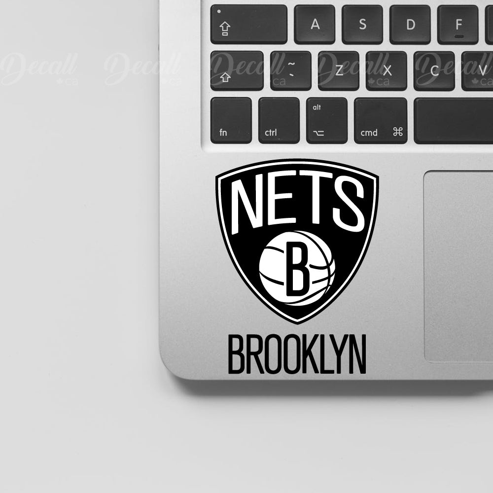 Basketball Team Brooklyn Nets Logo Sport Stickers - Stickers - Decall.ca