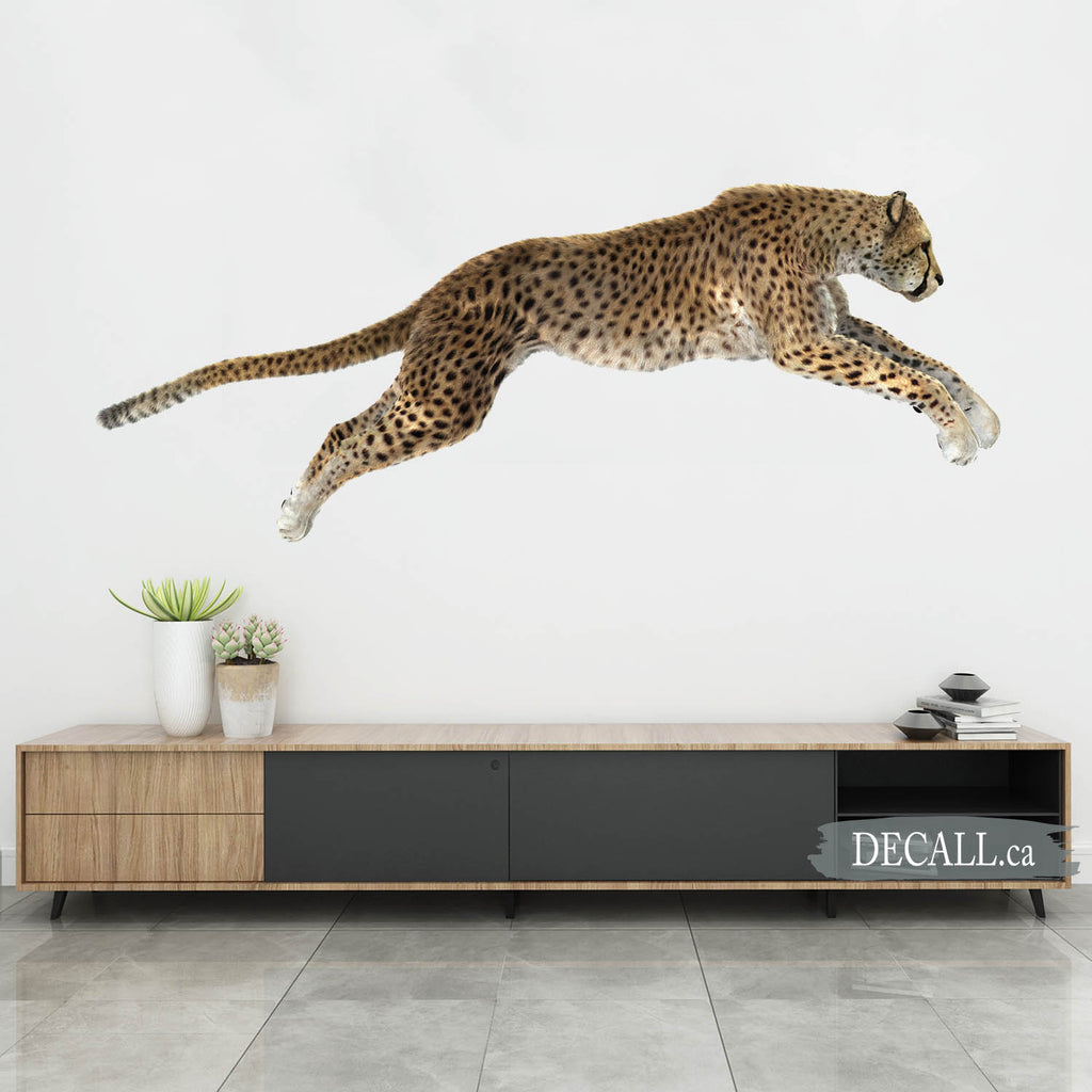 Cheetah Wall Sticker DWS1168