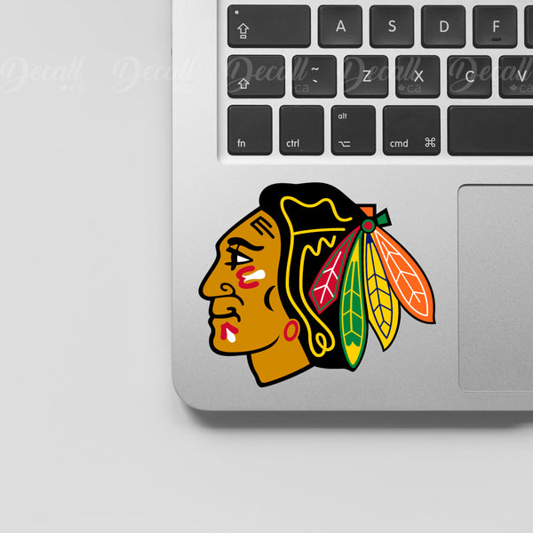 Ice Hockey Team Chicago Blackhawks Logo Sport Stickers - Stickers - Decall.ca