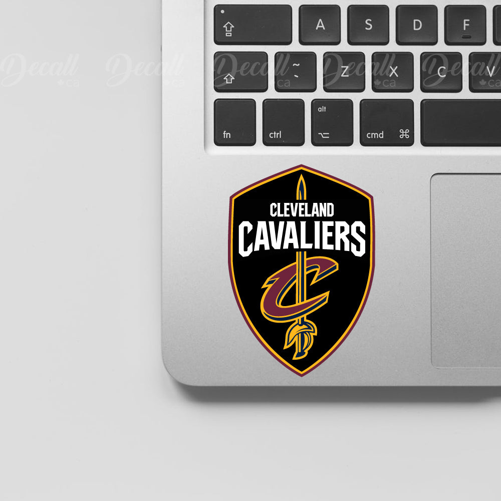 Basketball Team Cleveland Cavaliers Logo Sport Stickers - Stickers - Decall.ca