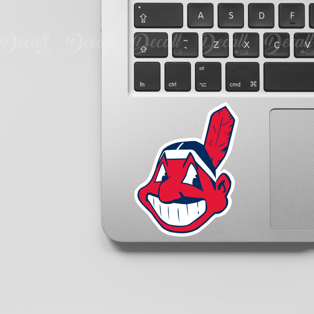 Baseball Team Cleveland Indians Logo Sport Stickers - Stickers - Decall.ca