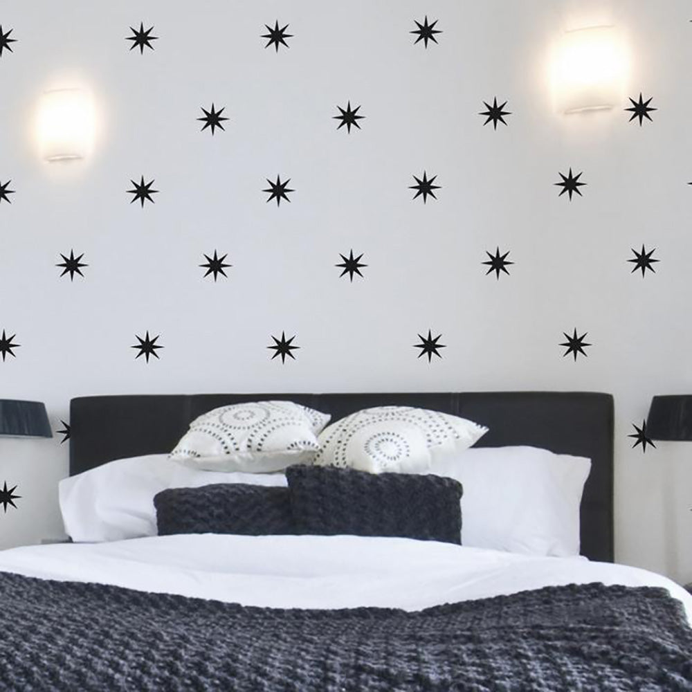 Removable Star Wall Decals - Coronata Stars - Wall-Decals - Decall.ca