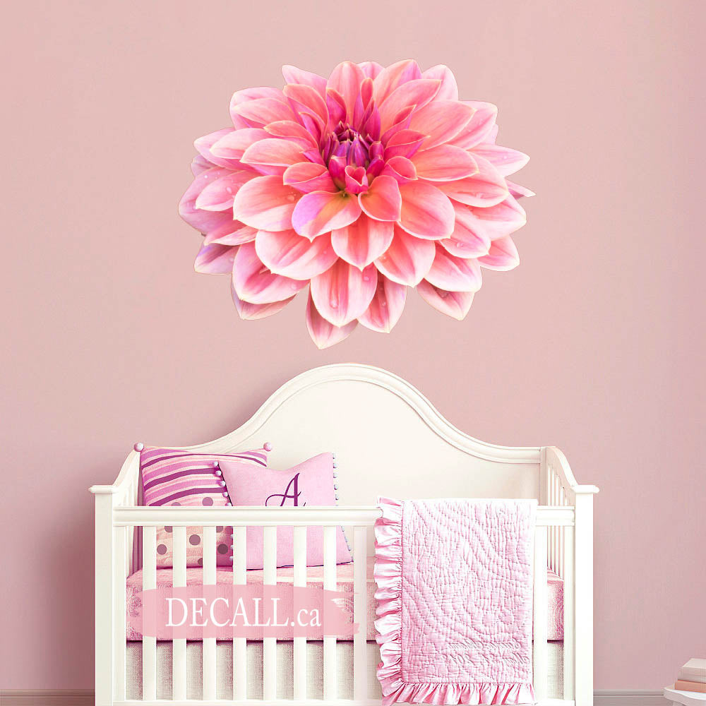 Dahlia Flower Wall Sticker DWS1230