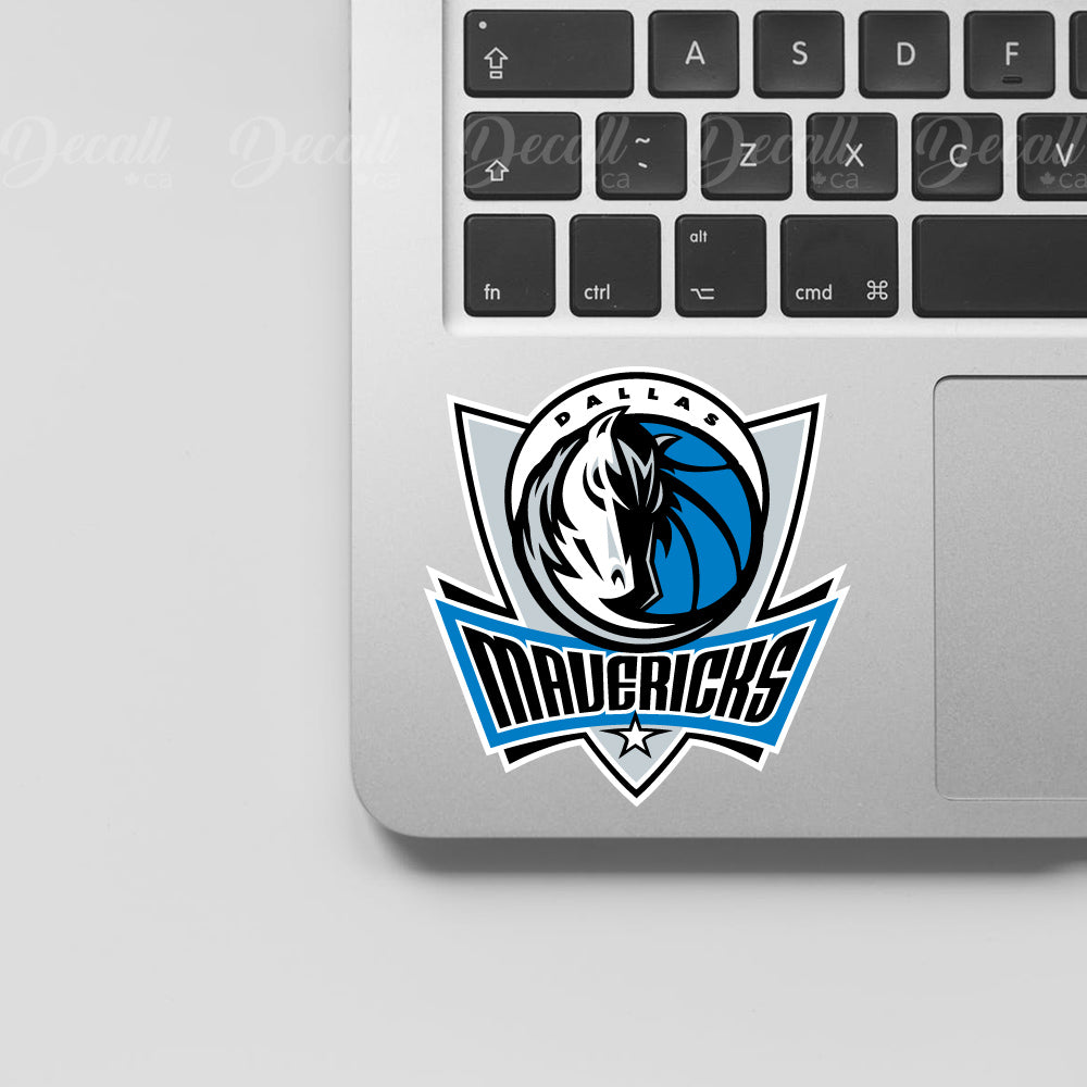Basketball Team Dallas Mavericks Logo Sport Stickers - Stickers - Decall.ca