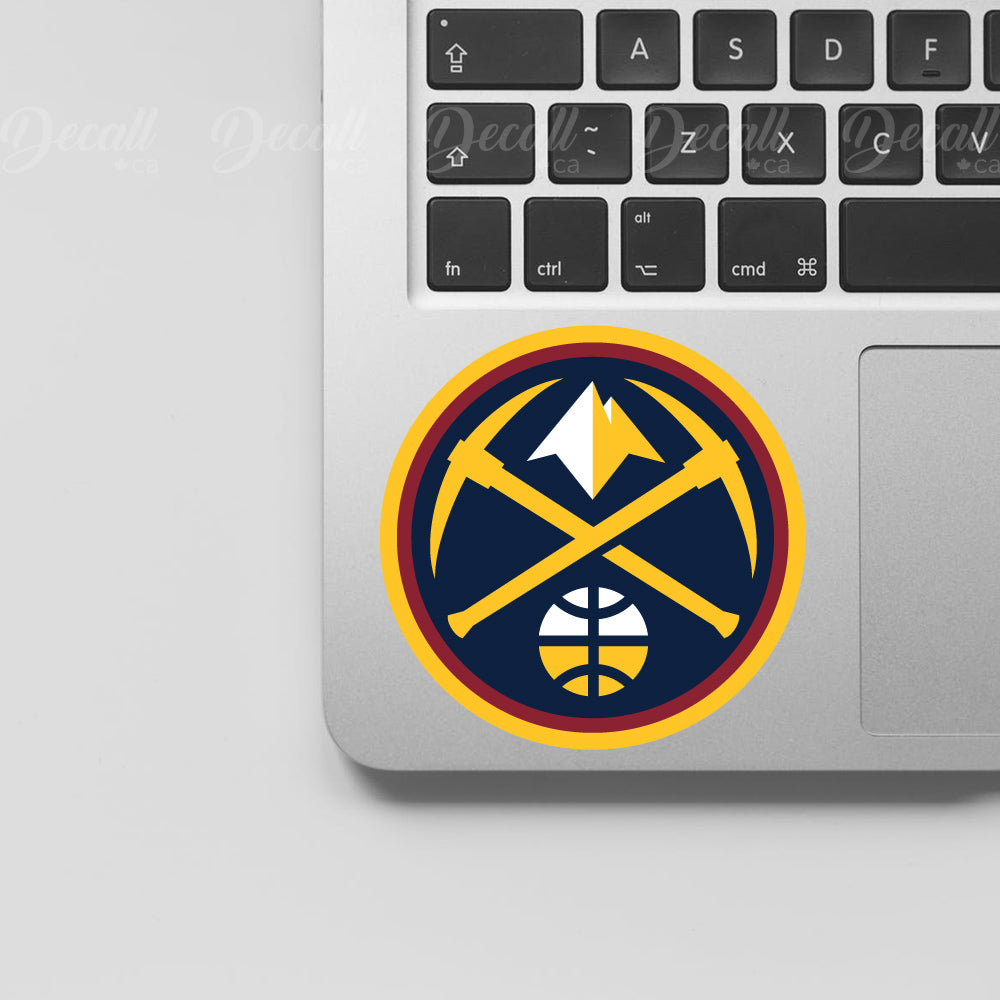 Basketball Team Denver Nuggets Logo Sport Stickers - Stickers - Decall.ca