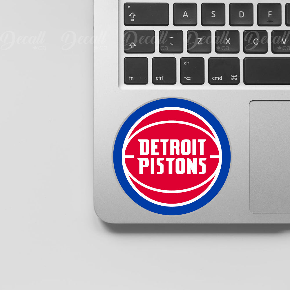 Basketball Team Detroit Pistons Logo Sport Stickers - Stickers - Decall.ca