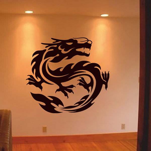 Dragon Tattoo - Wall Tattoo - Wall-Decals - Decall.ca