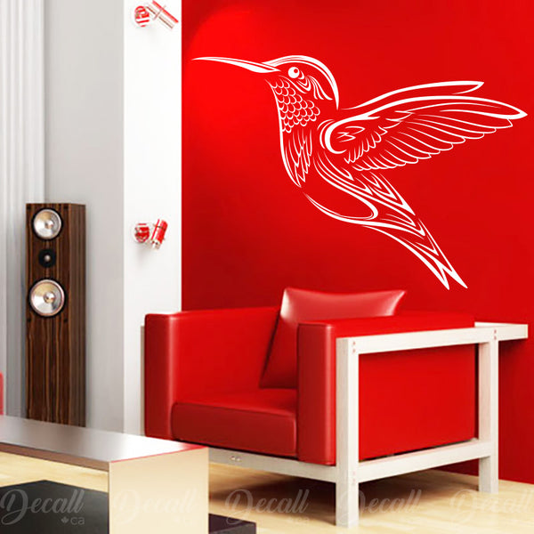 Elegant Hummingbird - Animal Wall Decal - Wall-Decals - Decall.ca