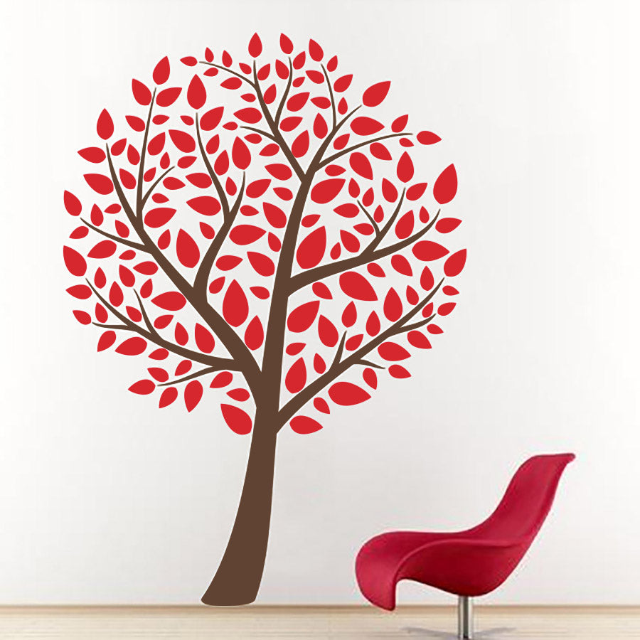 Elegant Tree - Wall Decals Stickers - Wall-Decals - Decall.ca