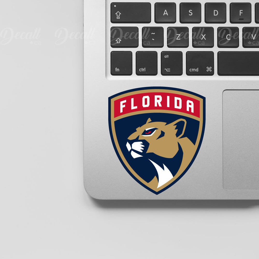 Ice Hockey Team Florida Panthers Logo Sport Stickers - Stickers - Decall.ca