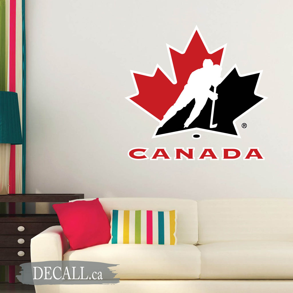 Hockey Canada Logo Wall Sticker DWS1226