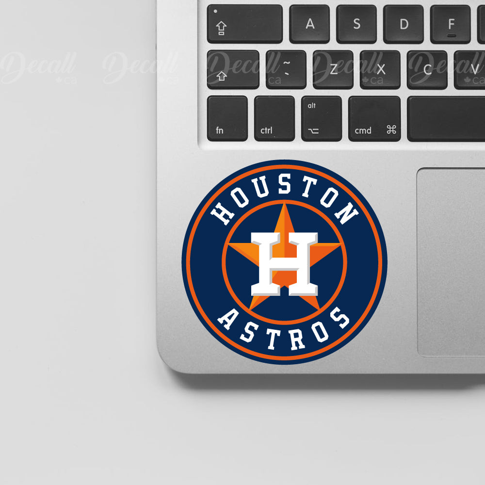 Baseball Team Houston Astros Logo Sport Stickers - Stickers - Decall.ca