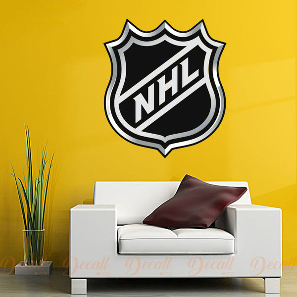 Ice Hockey National Hockey League NHL Logo Sport Wall Sticker - Wall-Stickers - Decall.ca