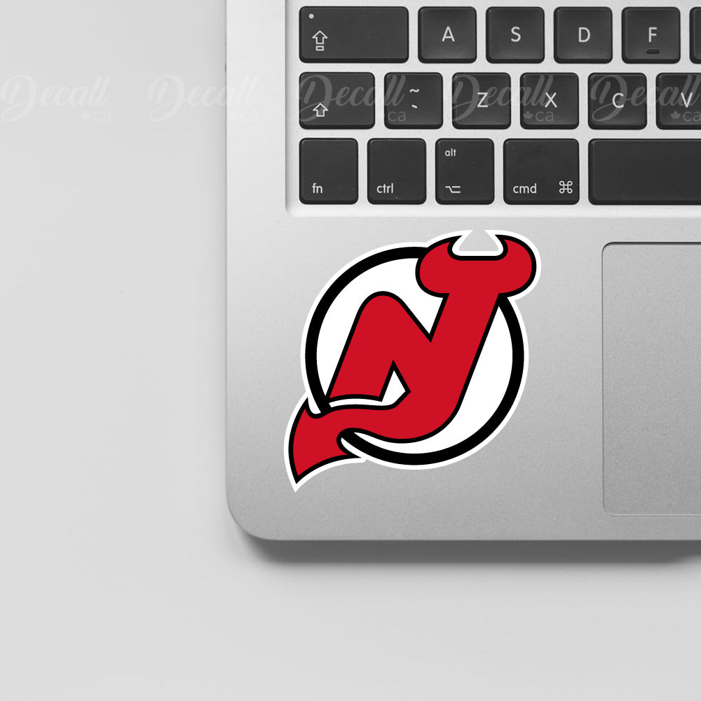 Ice Hockey Team New Jersey Devils Logo Sport Stickers - Stickers - Decall.ca