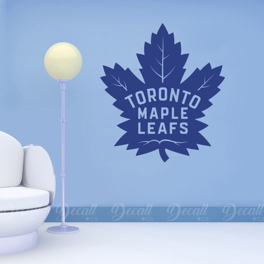Ice Hockey Team Toronto Maple Leafs Logo Sport Decals - Wall-Decals - Decall.ca