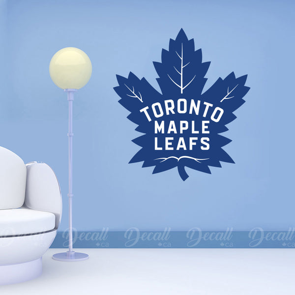 Ice Hockey Team Toronto Maple Leafs Logo Sport Wall Stickers - Wall-Stickers - Decall.ca