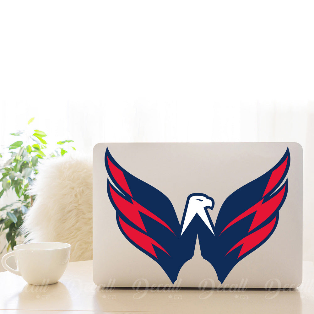 Ice Hockey Team Washington Capitals Eagle Logo Sport Sticker - Stickers - Decall.ca