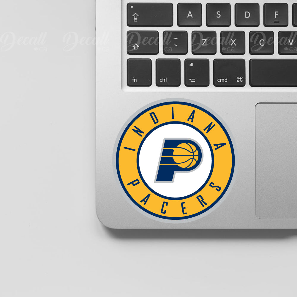 Basketball Team Indiana Pacers Logo Sport Stickers - Stickers - Decall.ca