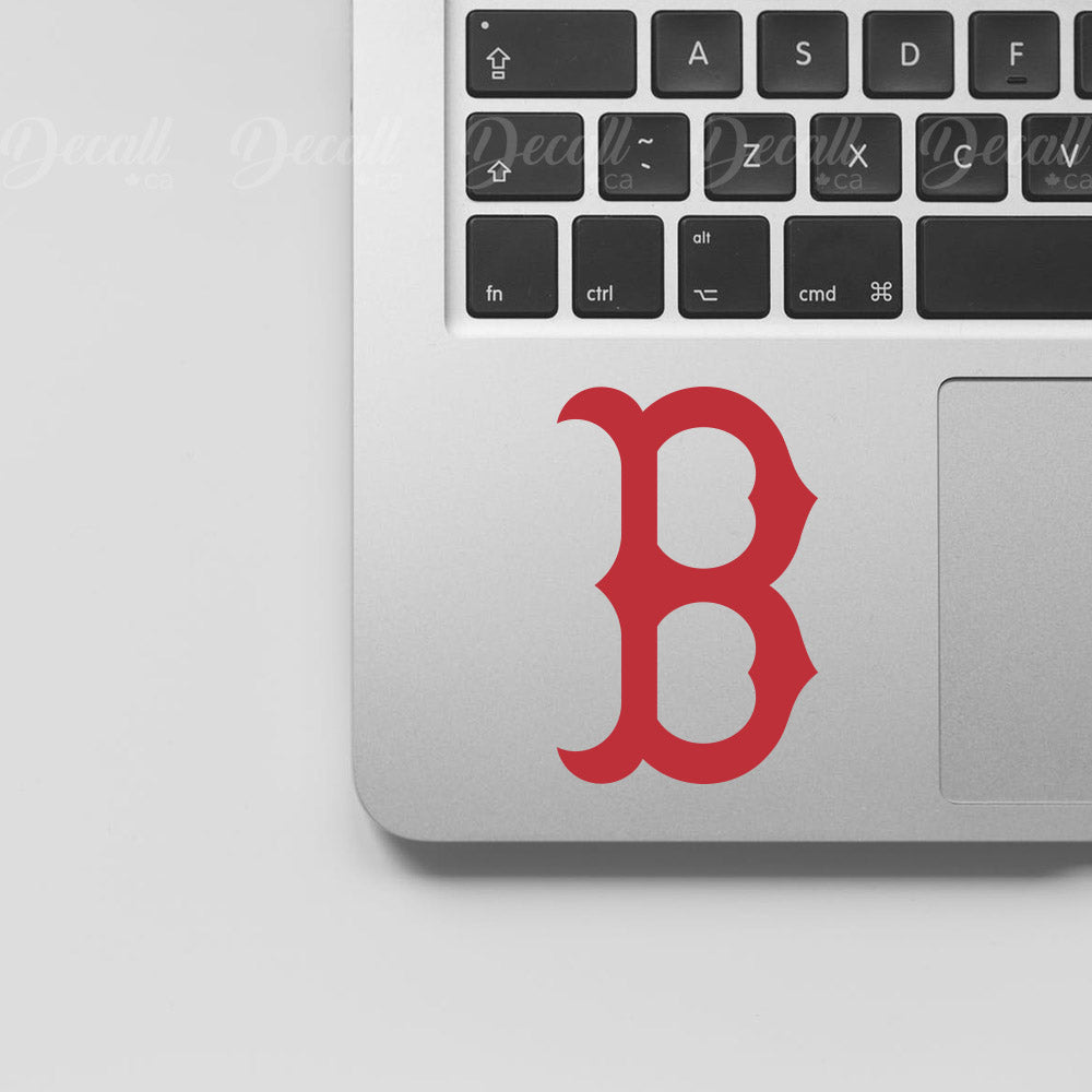 Baseball Team Boston Red Sox Logo Sport Laptop Stickers - Stickers - Decall.ca