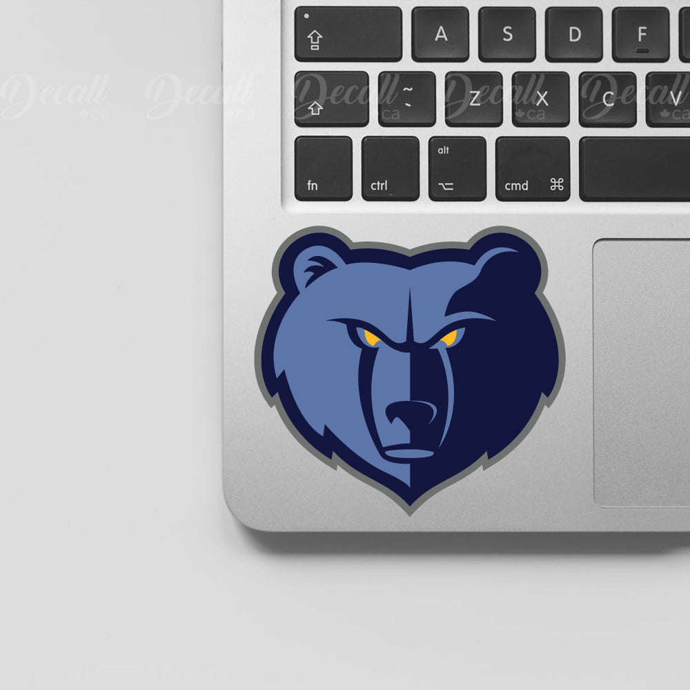 Basketball Team Memphis Grizzlies Logo Sport Stickers - Stickers - Decall.ca