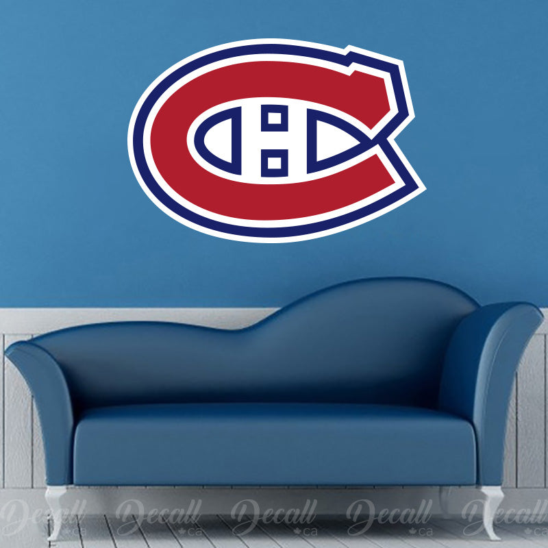 Ice Hockey Team Montreal Canadiens Hockey Sport Wall Sticker - Wall-Stickers - Decall.ca