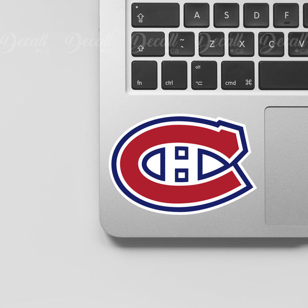 Ice Hockey Team Montreal Canadiens Logo Sport Stickers - Stickers - Decall.ca