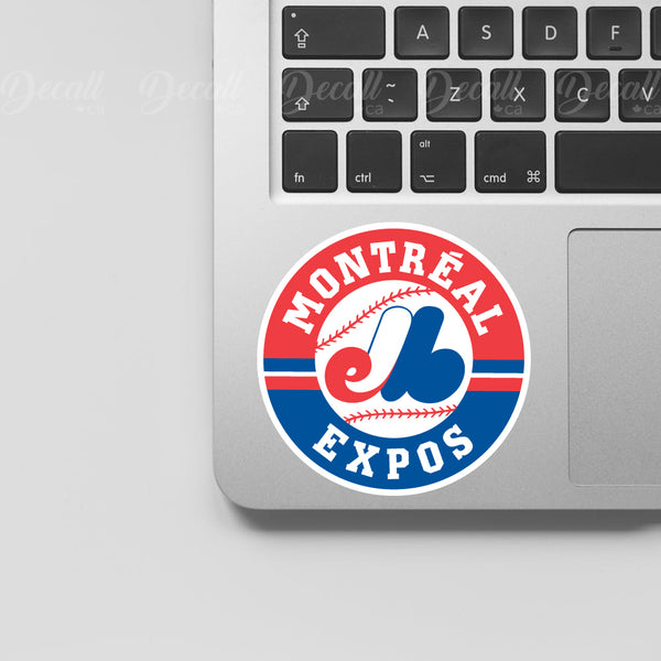 Baseball Team Montreal Expos Logo Sport Stickers - Stickers - Decall.ca