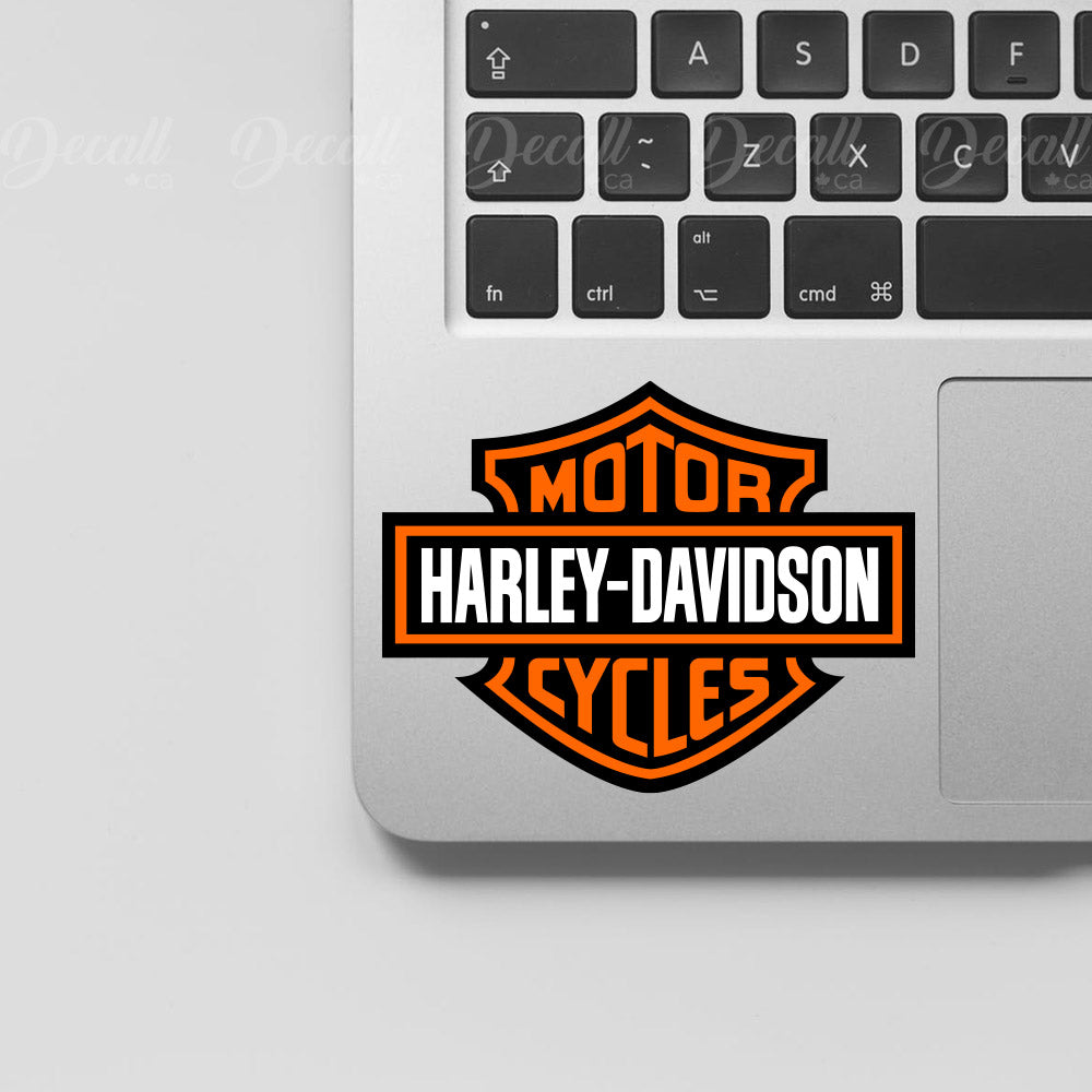 Motor Cycles Harley Davidson Logo Sticker - Stickers - Decall.ca