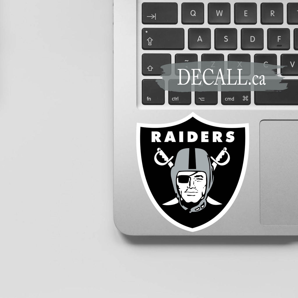 NFL Oakland Raiders Logo Sport Stickers DS1214